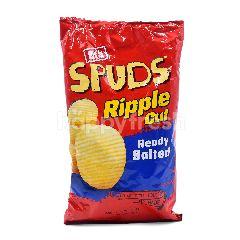 Eta Ripple Cut Ready Salted Potato Chips