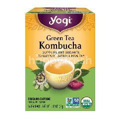 YOGI Green Tea Kombucha (16 Tea Bags)