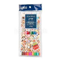เทสโก้ ดินสอสีไม้ 12 สี