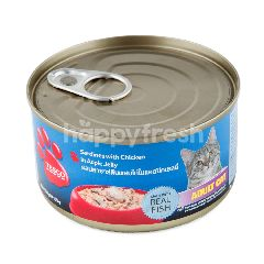 Tesco Sardines With Chicken In Aspic Jelly