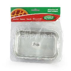 Kingfoil Wadah Makanan Alumunium Foil OX 360 P
