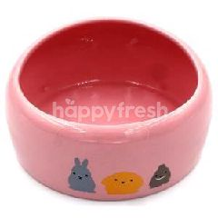 Trustie Small Animal Bowl (Pink) (Medium)