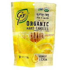 GO ORGANIC Organic Hard Candies Honey Lemon