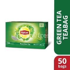 Lipton Pure Green Tea (50 Tea Bag)