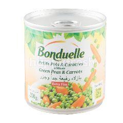 บ็งดูแอล ถั่วลันเตาและเบบี้แครอทในน้ำเกลือ