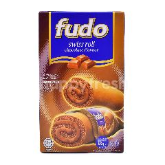 Fudo Chocolate Flavour Swiss Roll(6 Pieces)