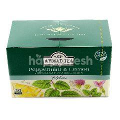 Ahmad Tea London Peppermint & Lemon, Relax Tea