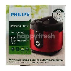 Philips Penanak Nasi Daily Collection HD3132 Merah