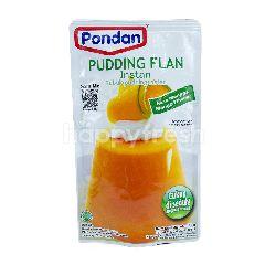 Pondan Pudding Flan Mangga