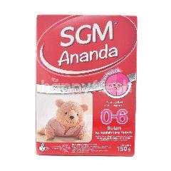 SGM Ananda Presinutri Susu Formula Bubuk 0-6 Bulan