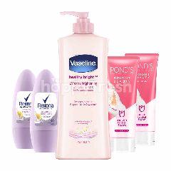 Vaseline Losion, Pond's dan Rexona Deodoran Paket