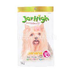 Jerhigh Makanan Anjing Stik Rasa Pisang