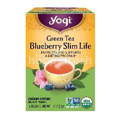 YOGI Green Tea Blueberry Slim Life (16 Tea Bags)