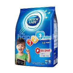 Dutch Lady Milk Powder GUM 123 Plain 900g