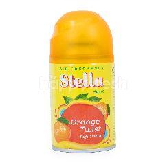 Stella Pengharum Ruangan Isi Ulang Matic dengan Keharuman Jeruk