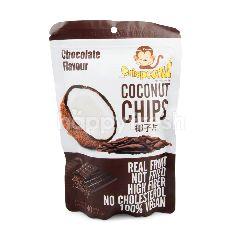 คริสป์โคนัท มะพร้าวอบกรอบ รสช็อกโกแลต มะพร้าวจริง ไฟเบอร์สูง ไม่มีคอเลสตอรอล