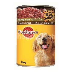 Pedigree Can Dog Wet Food Adult 5 Kinds of Meat 400G Dog Food