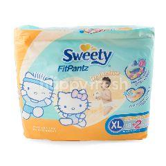 Sweety Popok Bayi Fit Pantz Ukuran XL