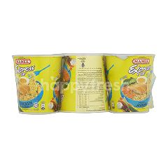 Mamee Chicken Flavoured Express Cup Instant Noodles (6 Cups)