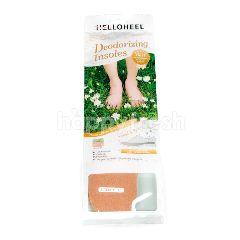 เฮลโลฮีล แผ่นรองพื้นในรองเท้า รุ่นดีโอไรซิ่ง อินโซลส์ สีน้ำตาล