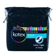 Kotex Ultrathins Pembalut Regular Tanpa Sayap