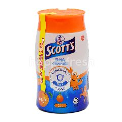 Scott's DHA Gummies Orange Flavor (75 Tablets)