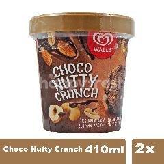 Wall's Es Krim Selection Chocolate Nutty Twinpack