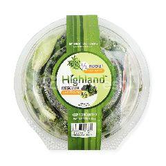 Highland 50/50 Salad Daun Mesclun dan Wild Rocket