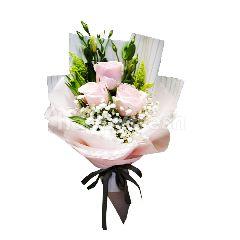 Garden Scents Imported Rose 3 Stem