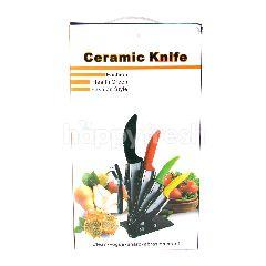 Ceramic Knife Set Pisau Dapur