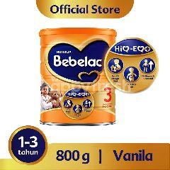 Nutricia Bebelac 3 Susu Bubuk Vanilla