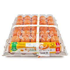 เบทาโกร ไข่ไก่อนามัย เบอร์ 1 (30 ฟอง)