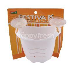 Villa Festiva Ps Pump Suction Tempat Alat Mandi untuk Kamar Mandi 6309