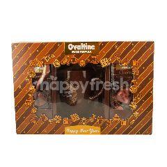 โอวัลติน สวิส ฟอร์มูล่า ริช ช็อกโกแลต เซ็ทเครื่องดื่มมอลต์รสช็อกโกแลตปรุงสำเร็จ 24 ซอง + แก้วเซรามิค