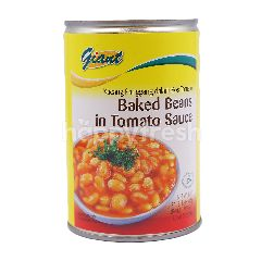 Giant Baked Beans In Tomato Sauce