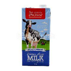 Australia's Own Full Cream Delicious Aussie Milk