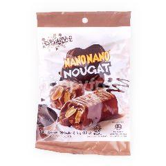 Nano Nano Nougat Dengan Rasa Cokelat