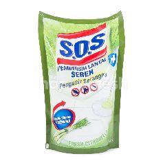 S.O.S Pembersih Lantai Fresh Citronella Floor Cleaner