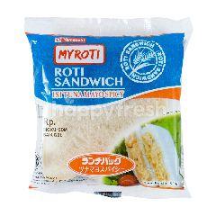 My Roti Roti Sandwich Isi Tuna Mayonaise Pedas