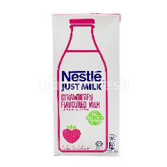 Just Milk Strawberry Flavoured Milk 1L