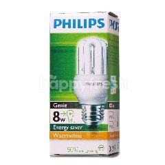 Philips Genie 8W Energy Saver Warm White