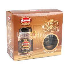 มอคโคน่า กาแฟสำเร็จรูป ดาร์กโกลด์ ชนิดฟรีซดราย 200 กรัม