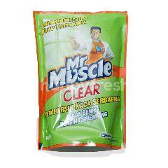 Mr. Muscle Clear Pembersih Kaca Serbaguna Apel
