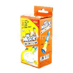 Mr. Muscle Gel Isi Ulang Pembersih Toilet Aroma Citrus