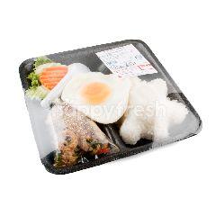 บิ๊กซี ข้าวกระเพราไก่ไข่ดาว