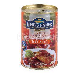 King's Fisher Sarden Goreng dalam Sambal Balado