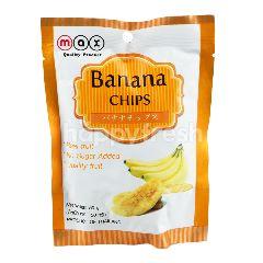 แมกซ์ กล้วยหอมอบกรอบ 50 กรัม