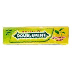 Wrigley's Doublemint Green Tea Mint Flavour