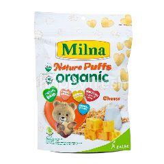 Milna Nature Puff Organik Rasa Keju