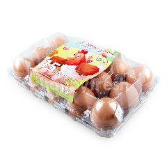 ฟาร์มแม่สะอาด ไข่ไก่สด (15 ฟอง)